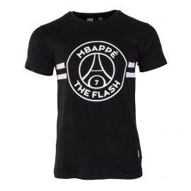 Tee shirt MBappe Team Flash Homme PSG marque pas cher prix dégriffés destockage