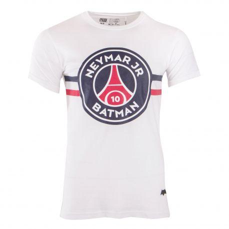 Tee shirt mc neymar team batman Homme PSG marque pas cher prix dégriffés destockage