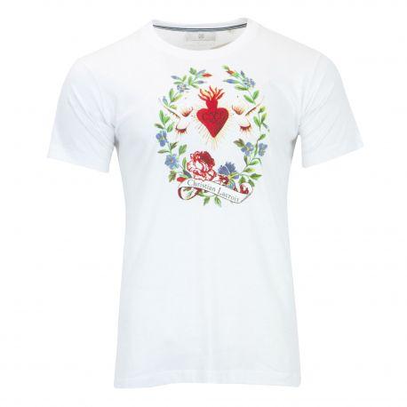 Tee shirt manches courtes Park Homme CHRISTIAN LACROIX marque pas cher prix dégriffés destockage