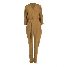Combinaison pantalon marron Femme AMERICAN VINTAGE marque pas cher prix dégriffés destockage