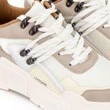 Baskets à plateforme colorblock Femme VICTORIA marque pas cher prix dégriffés destockage
