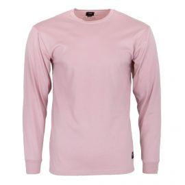Tee shirt manches longues rose clair Homme VANS marque pas cher prix dégriffés destockage