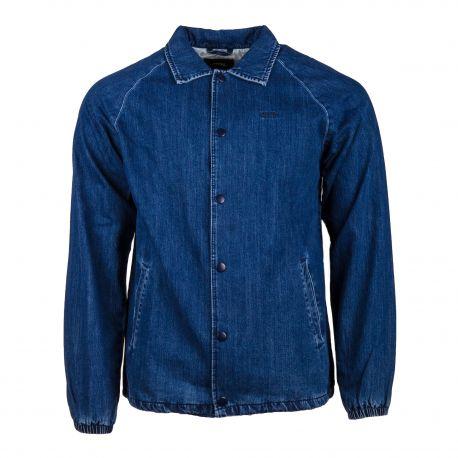 Veste en jean bleu Homme VANS marque pas cher prix dégriffés destockage