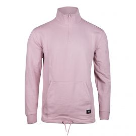 Sweat col montant rose clair Homme VANS