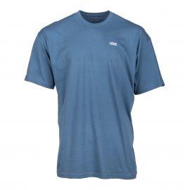 Tee shirt bleu manches courtes Homme VANS marque pas cher prix dégriffés destockage