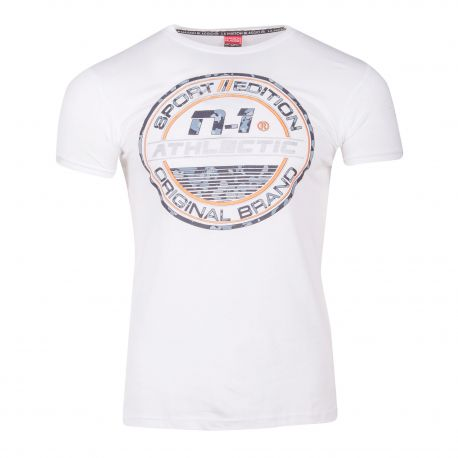 Tee shirt manches courtes malbone Homme BLAGGIO marque pas cher prix dégriffés destockage