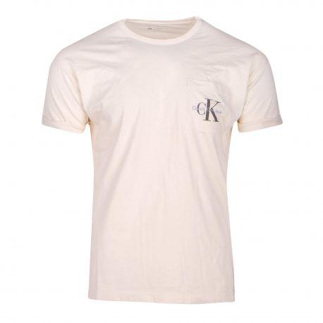 Tee-shirt mc Homme CALVIN KLEIN marque pas cher prix dégriffés destockage