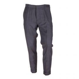 Pantalon de costume gris foncé Homme CALVIN KLEIN marque pas cher prix dégriffés destockage