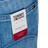 Jean slim taille haute bleu Femme Izzy TOMMY HILFIGER marque pas cher prix dégriffés destockage