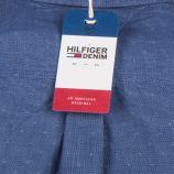 Chemise regular fit bleu imprimée Homme TOMMY HILFIGER marque pas cher prix dégriffés destockage