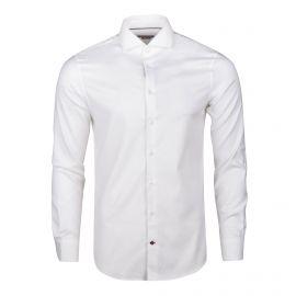 Chemise blanche manches longues Homme TOMMY HILFIGER marque pas cher prix dégriffés destockage