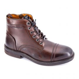 Boot cuir pms50159 marron Homme PEPE JEANS