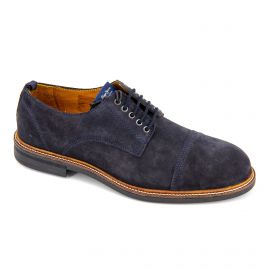 Derby cuir pms10247 navy Homme PEPE JEANS