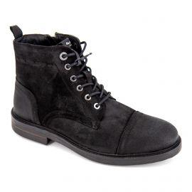 Boot cuir pms50161 noir Homme PEPE JEANS