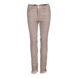 Pantalon 5 poches en velours beige Femme ZADIG & VOLTAIRE