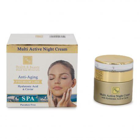 Creme nuit acide hyaluronique et caviar (50ml) Femme HEALTH & BEAUTY