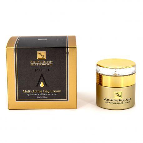 Crème visage jour multi active 50ml Femme HEALTH & BEAUTY marque pas cher prix dégriffés destockage