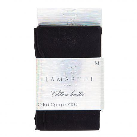 Collant opaque 240 deniers tiphaine Femme LAMARTHE marque pas cher prix dégriffés destockage