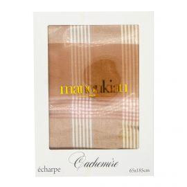 Echarpe mimosa cachemire 65x185 cm Femme MANOUKIAN