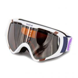 Masque ski blanc Catégorie 3 Beau temps Enfant BOLLE marque pas cher prix dégriffés destockage