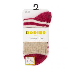 Chaussettes cachemire laine petra 36/41 Femme RODIER marque pas cher prix dégriffés destockage