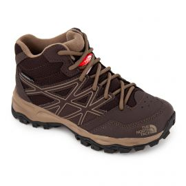 Baskets Hedgehog Hiker Mid WP Enfant THE NORTH FACE marque pas cher prix dégriffés destockage