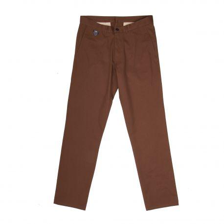 Pantalon toile droit poches passepoilées Homme APRIL 77 marque pas cher prix dégriffés destockage