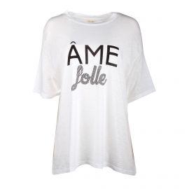 Tee shirt MC Collector Ame folle Femme AMERICAN VINTAGE marque pas cher prix dégriffés destockage