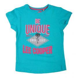 Tee shirt mc 6-14ans lc11101 Enfant LEE COOPER marque pas cher prix dégriffés destockage