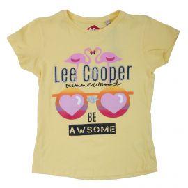 Tee shirt mc 6-14ans lc11100 Enfant LEE COOPER marque pas cher prix dégriffés destockage
