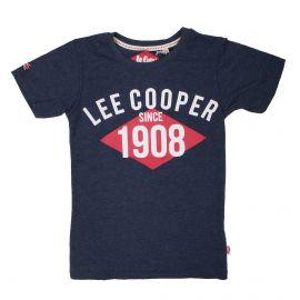 Tee shirt mc 6-14ans glc60473 Enfant LEE COOPER marque pas cher prix dégriffés destockage