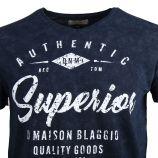 Tee shirt manches courtes myrina Superior Homme BLAGGIO marque pas cher prix dégriffés destockage