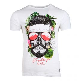Tee shirt manches courtes minot Vintage Co Homme BLAGGIO