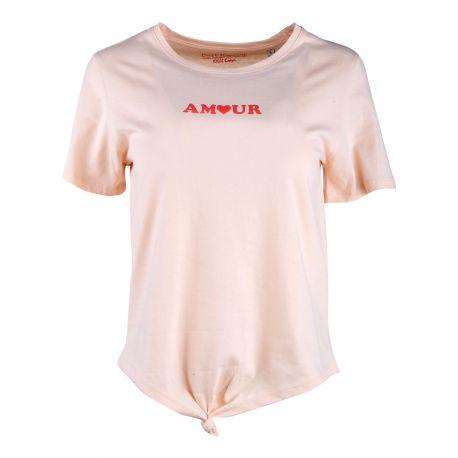Tee shirt mc Amour Femme BEST MOUNTAIN marque pas cher prix dégriffés destockage