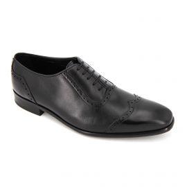 Chaussures Derbies noires Maxim Joukov Homme PIERRE CARDIN marque pas cher prix dégriffés destockage