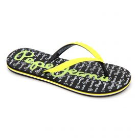 Tongs black/yellow pls70058044 t36/41 Femme PEPE JEANS