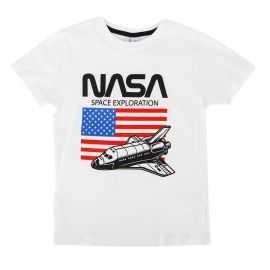 Tee shirt manches courtes drapeau floqué Enfant BEYOND THE RAINBOW marque pas cher prix dégriffés destockage