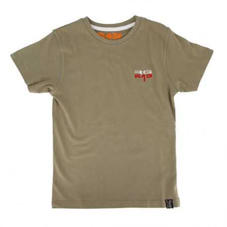 Tee shirt manches courtes col rond logo brodé Enfant RG512 marque pas cher prix dégriffés destockage
