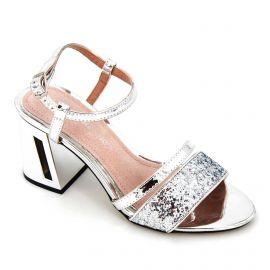 Sandales a talons megan glitter plata 67522 Femme MARIAMARE marque pas cher prix dégriffés destockage