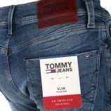 Jean coton stretch slim Scanton Homme TOMMY HILFIGER marque pas cher prix dégriffés destockage