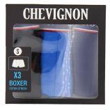Boxer coton strech doux Homme CHEVIGNON marque pas cher prix dégriffés destockage