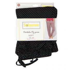 Pantalon de pyjama imprimé pois multicolore Penka Femme SINEQUANONE marque pas cher prix dégriffés destockage