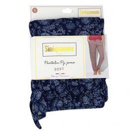 Pantalon de pyjama imprimé feuille Penka Femme SINEQUANONE marque pas cher prix dégriffés destockage