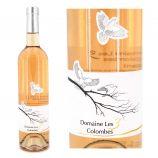 Vin rosé IGP Gard 75 CL 2020 Domaine Les 3 Colombes