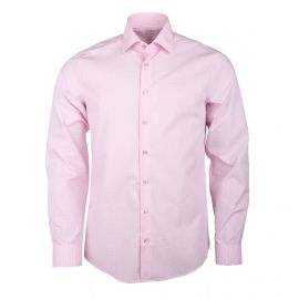 Chemise manches longues coton doux à carreaux Homme CALVIN KLEIN marque pas cher prix dégriffés destockage