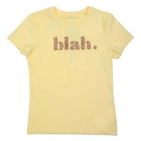 Tee shirt manches courtes éclats de strass Enfant KIDS ONLY marque pas cher prix dégriffés destockage