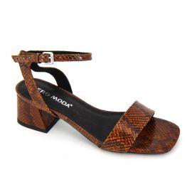 Sandales à talons serpent boucle Femme VERO MODA marque pas cher prix dégriffés destockage