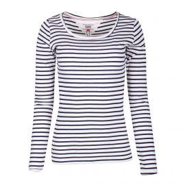 Tee shirt ml Femme TOMMY HILFIGER marque pas cher prix dégriffés destockage