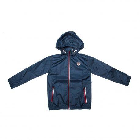 Coupe vent déperlant capuche poches zip tag brodé Enfant RG512 marque pas cher prix dégriffés destockage