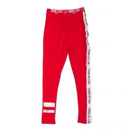 Legging coton stretch doux ganse Strong Like A Girl Enfant DIAB'LESS marque pas cher prix dégriffés destockage